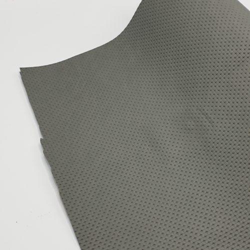 Kunstleer grijs structuur