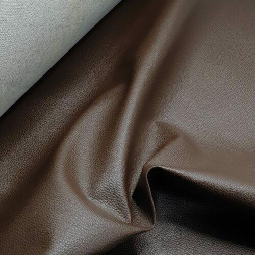 Kunstleer Chicago - Chocolade